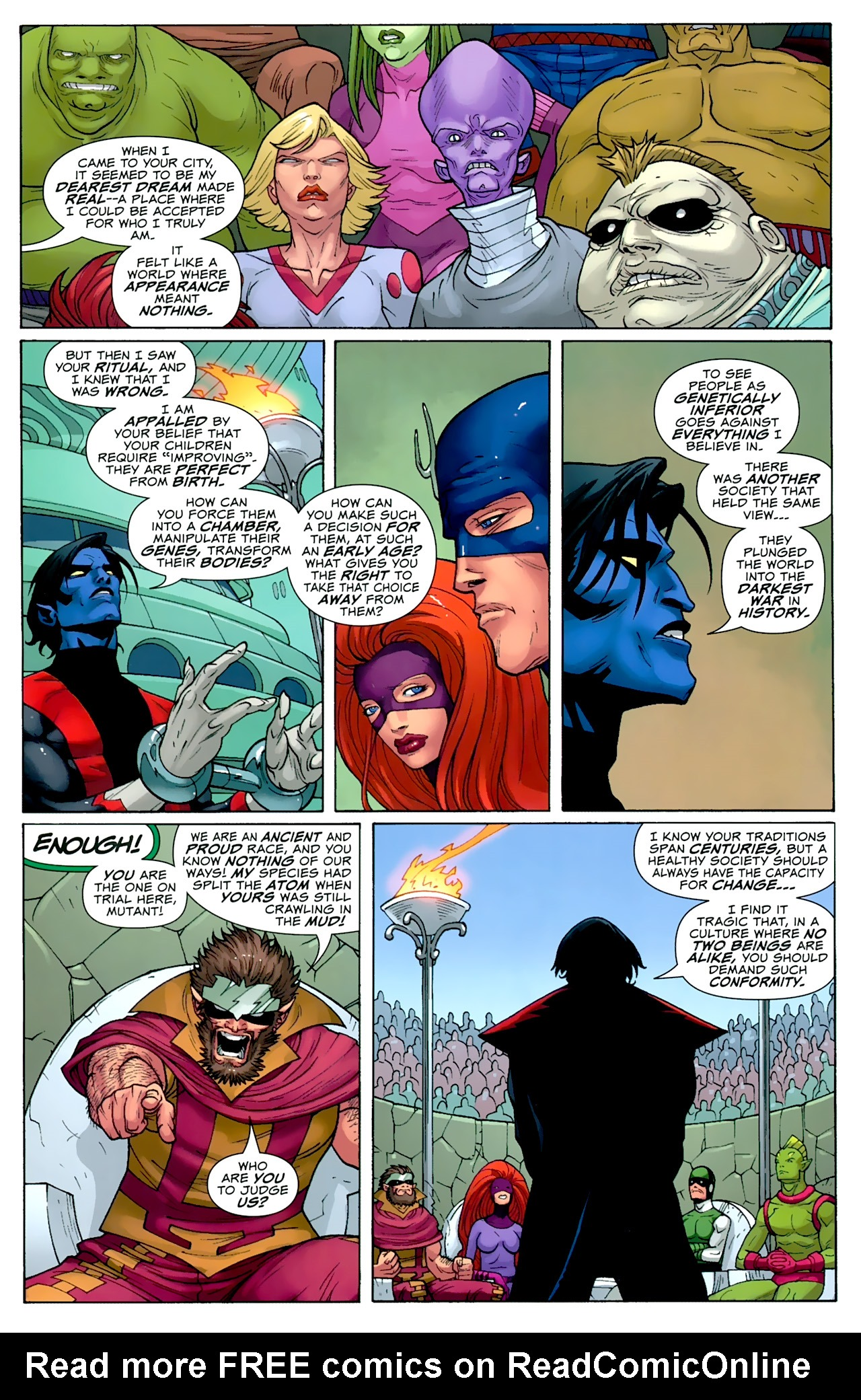 Read online Uncanny X-Men: First Class comic -  Issue #2 - 11