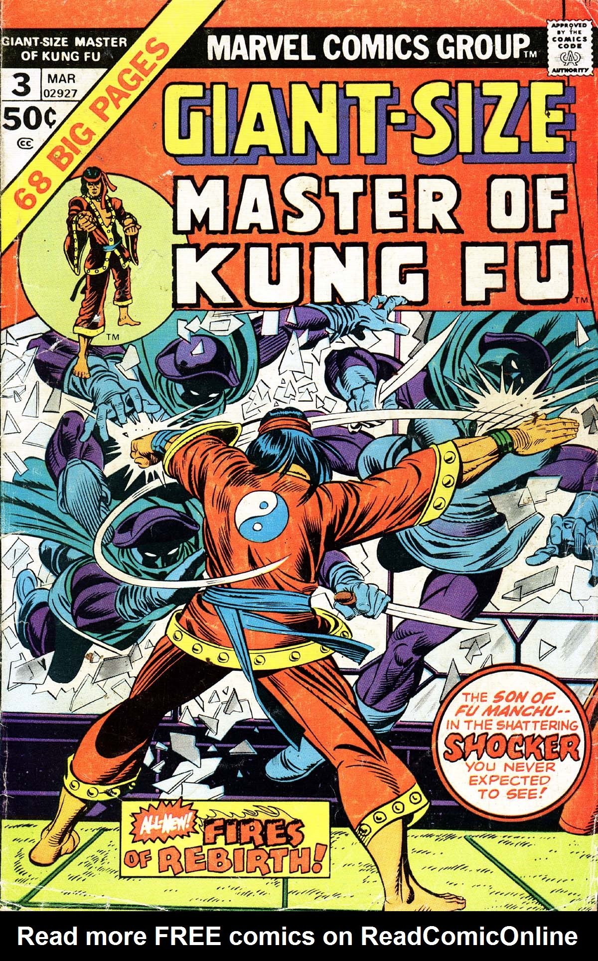 Read online Giant-Size Master of Kung Fu comic -  Issue #3 - 1