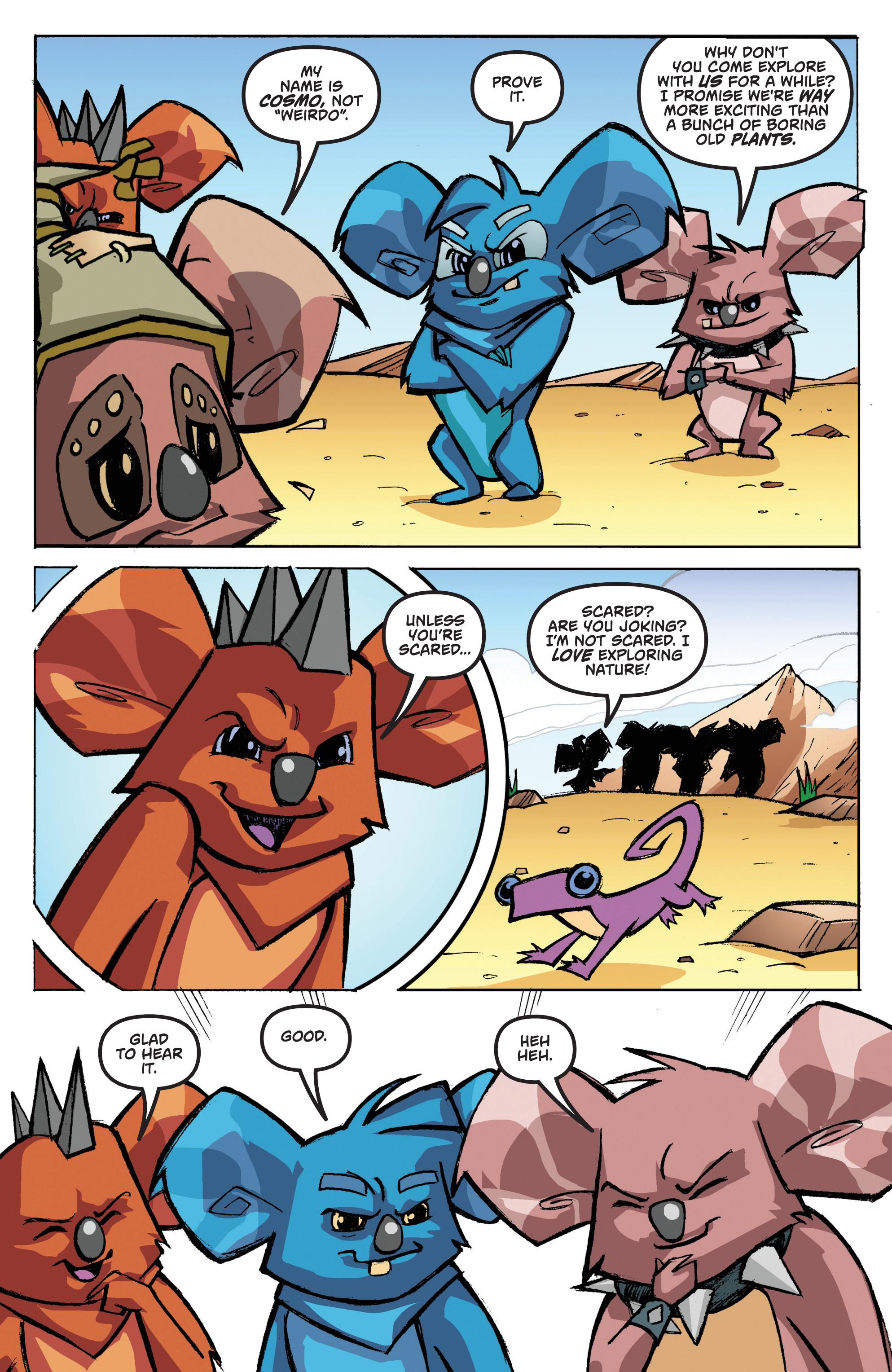 Read online Animal Jam comic -  Issue #1 - 16