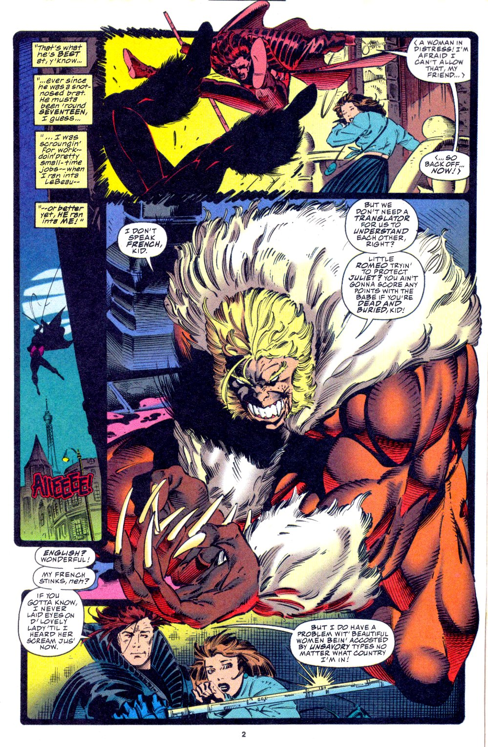 X-Men (1991) 33 Page 3