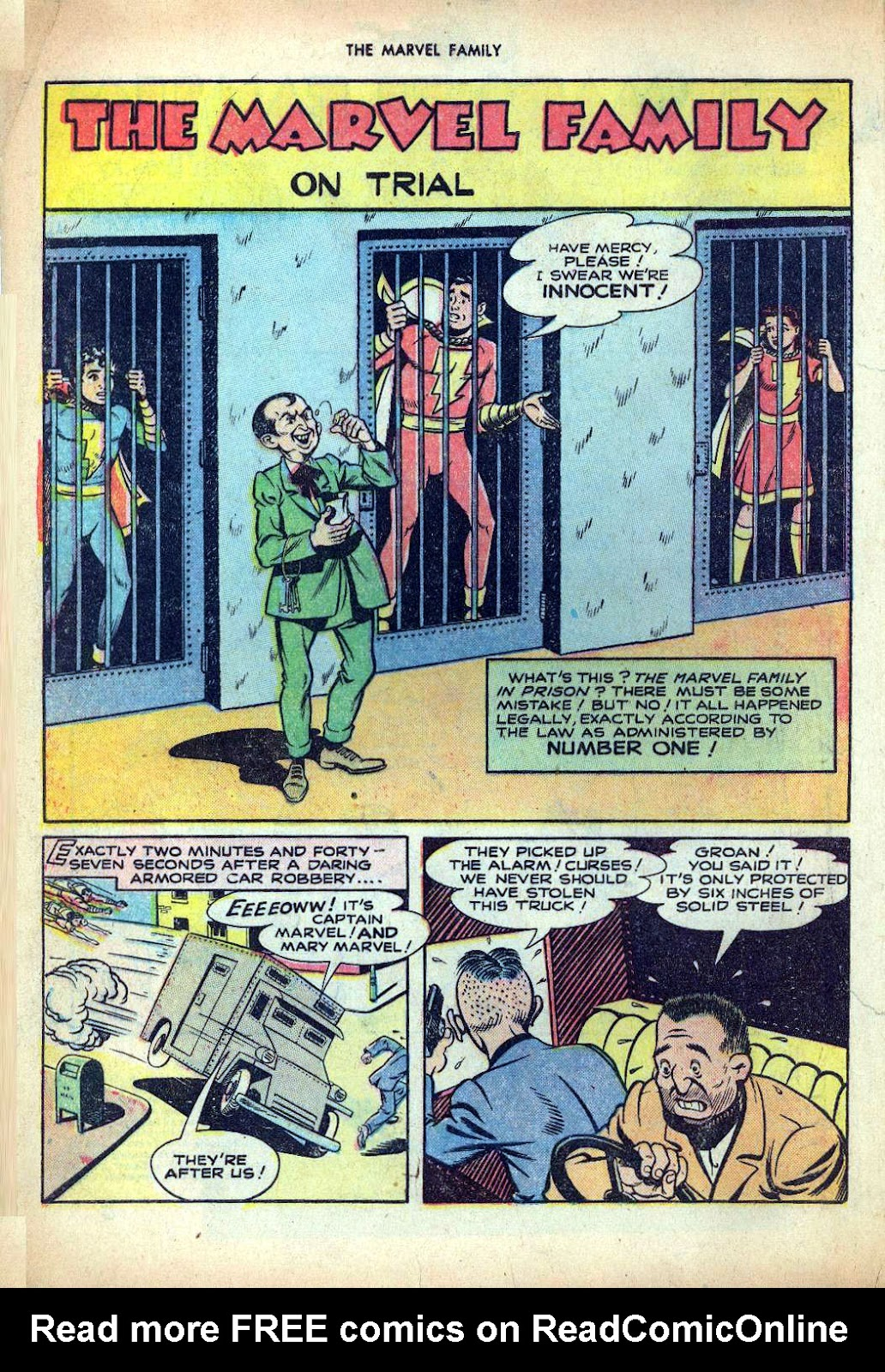 The Marvel Family issue 25 - Page 4