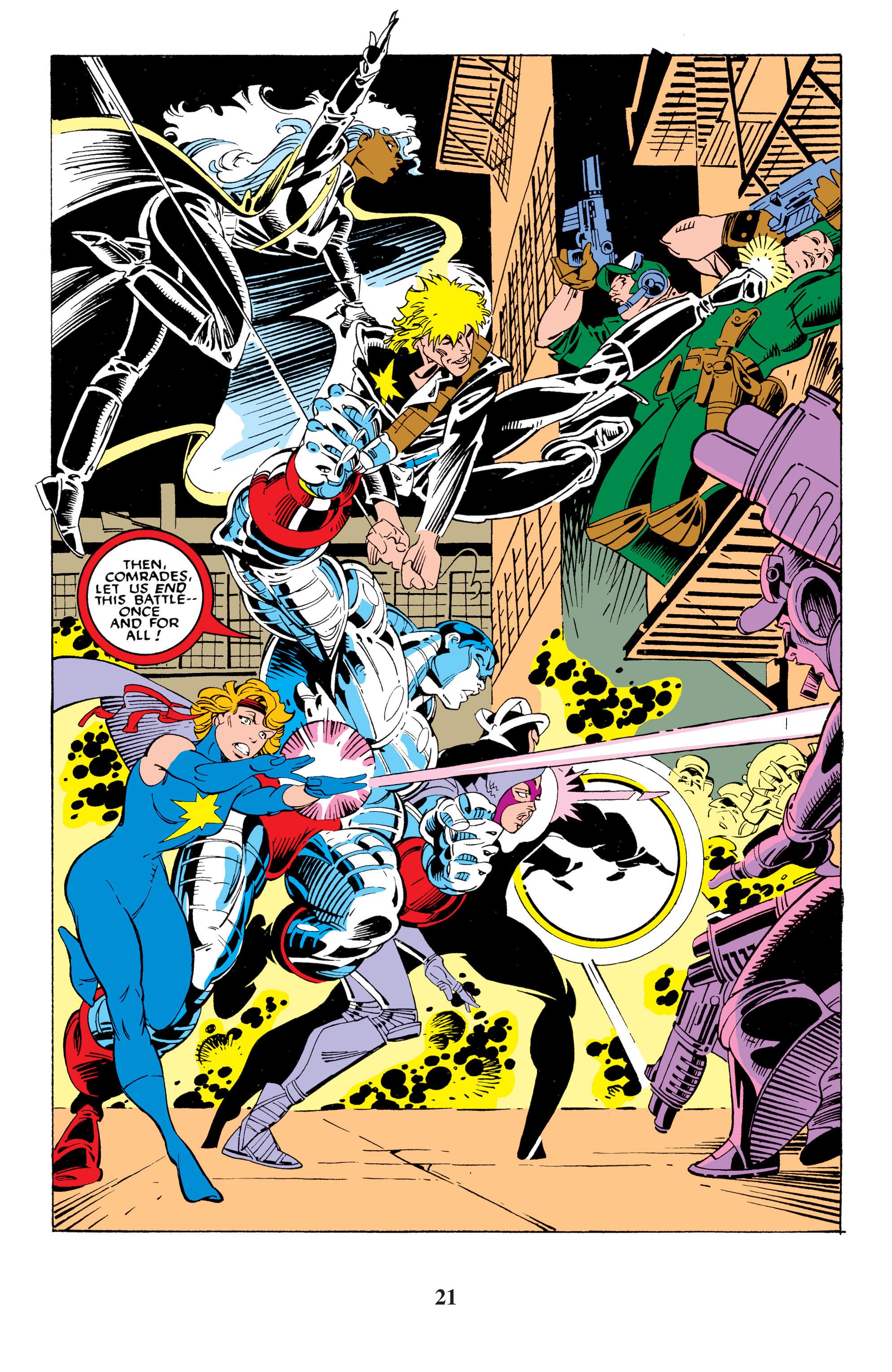 Read online Uncanny X-Men (1963) comic -  Issue #235 - 21