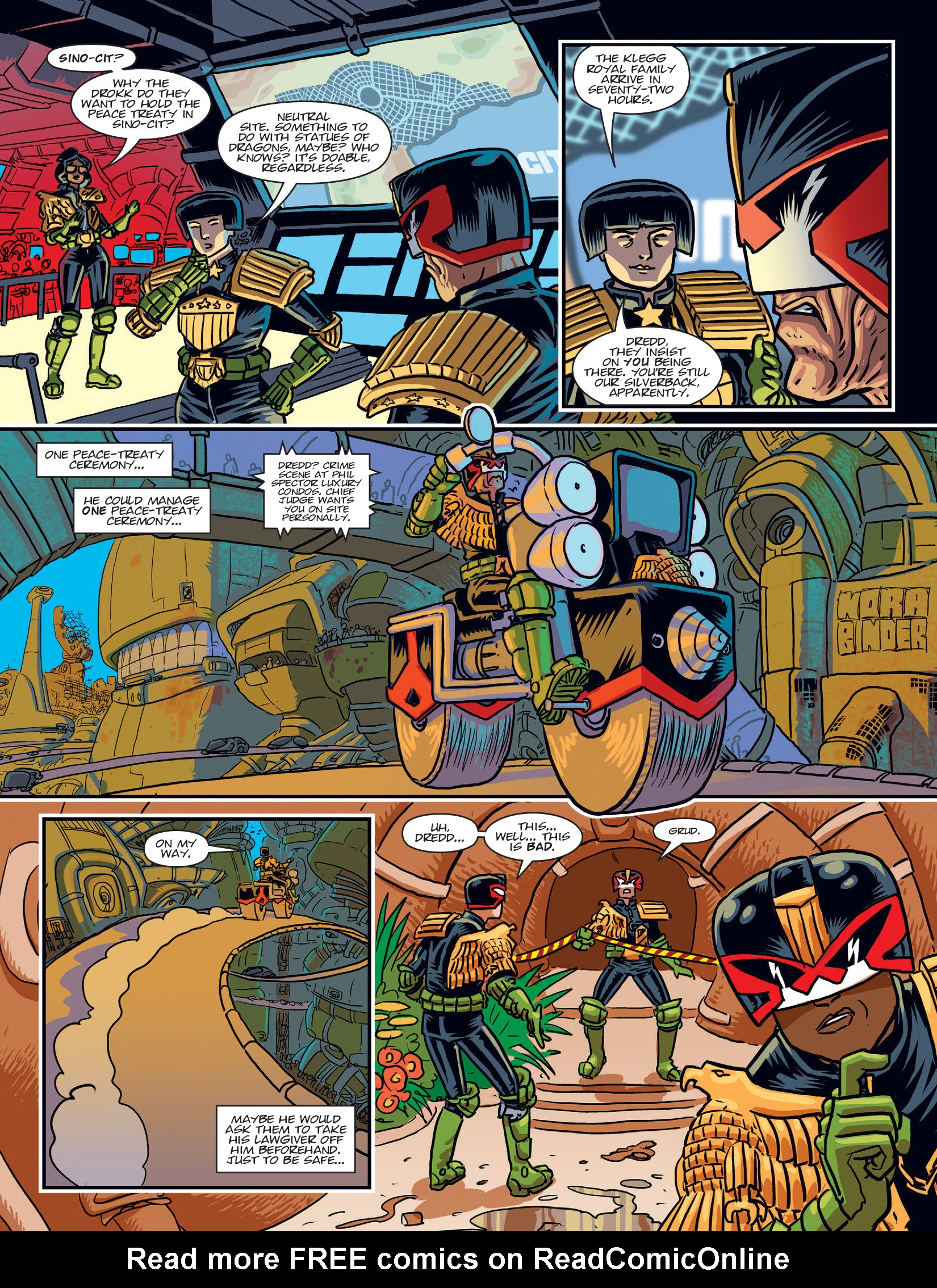 Read online 2000 AD comic -  Issue #1969 - 6