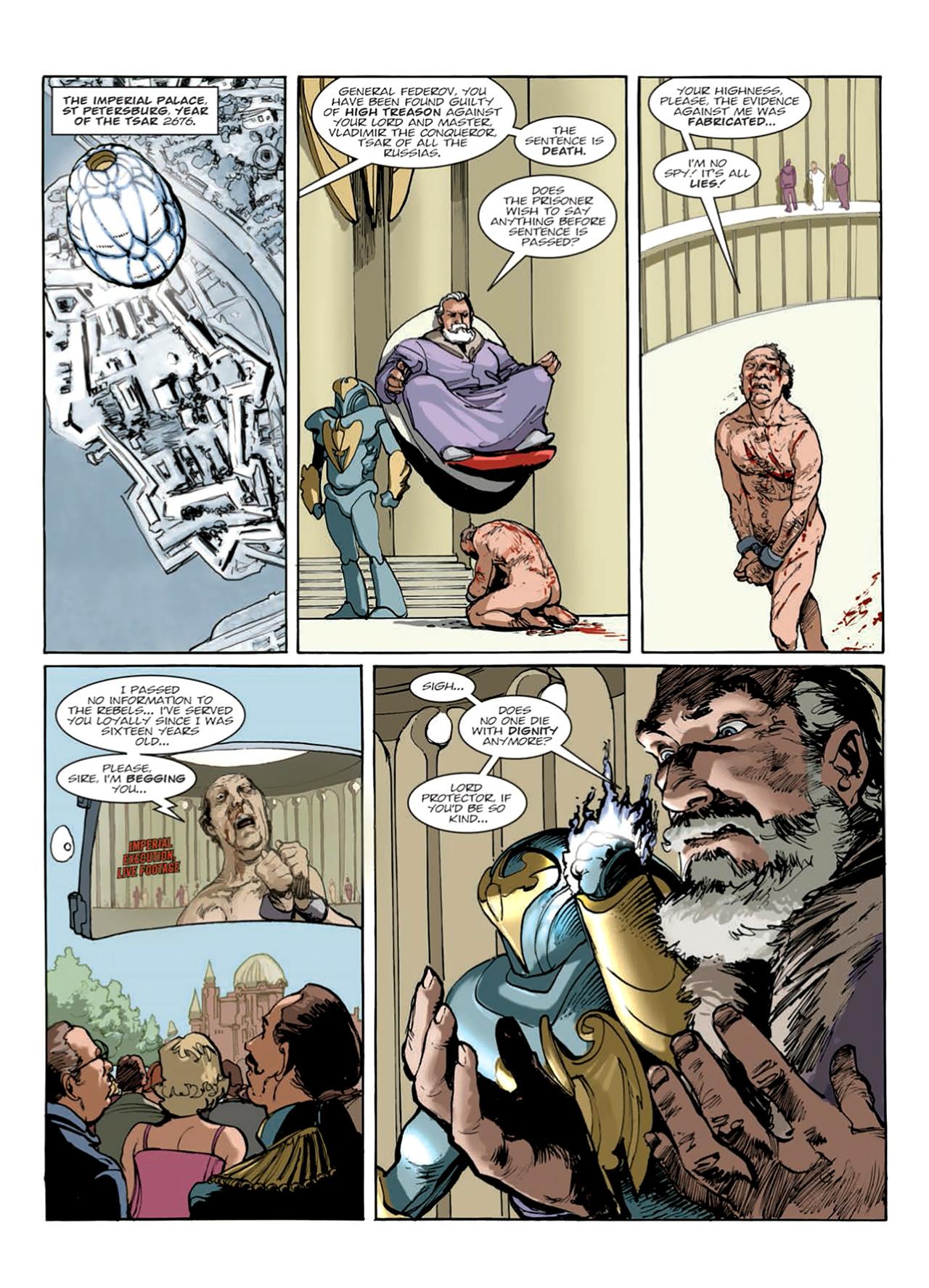 Read online Nikolai Dante comic -  Issue # TPB 9 - 135