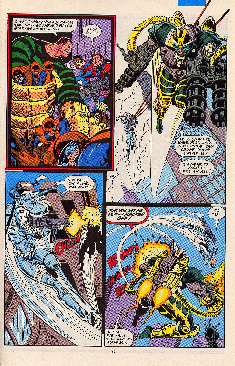 Read online Silver Sable and the Wild Pack comic -  Issue #3 - 20