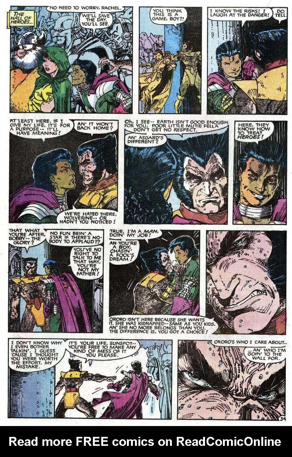 Read online Uncanny X-Men (1963) comic -  Issue # _Annual 9 - 36