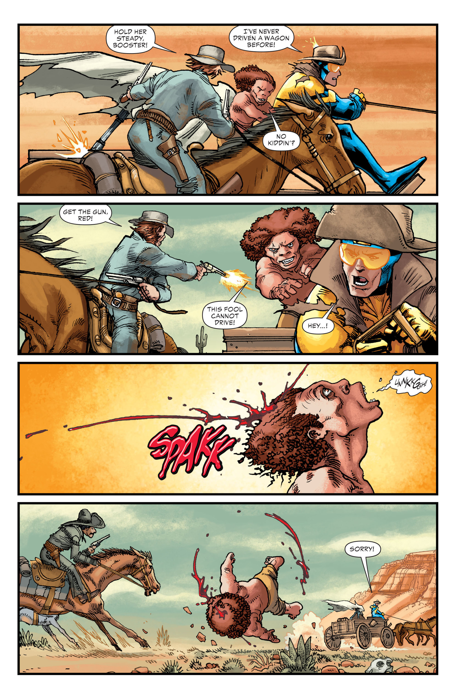 Read online All-Star Western (2011) comic -  Issue #21 - 3