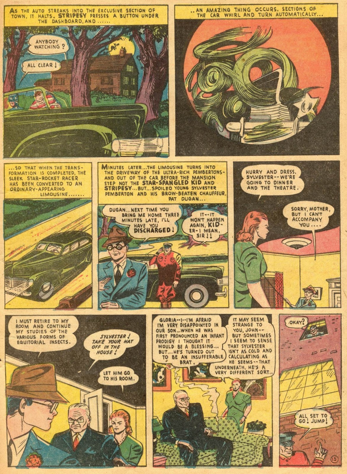 Star Spangled Comics (1941) issue 1 - Page 17
