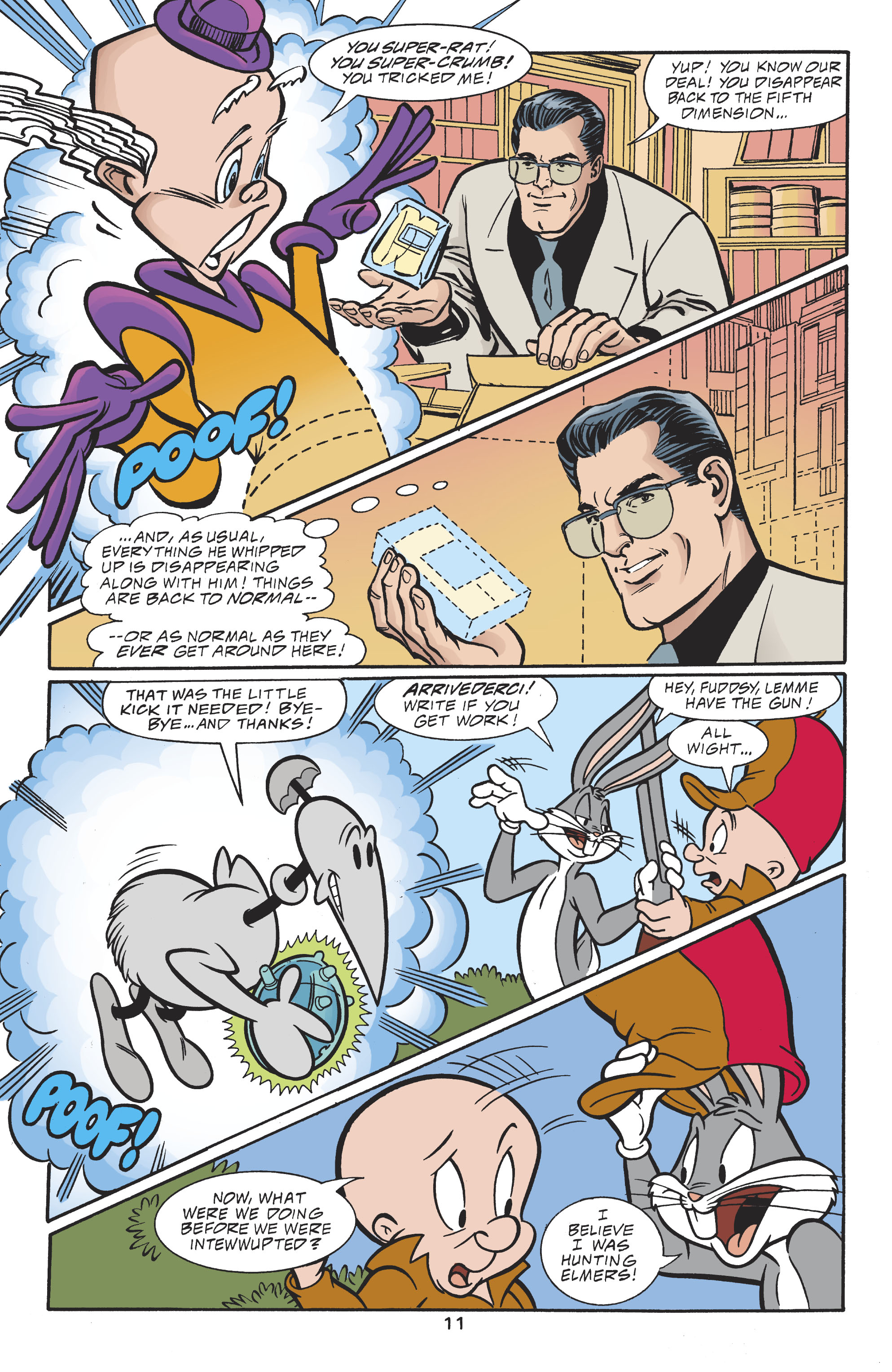 Read online DC/Looney Tunes 100-Page Super Spectacular comic -  Issue # Full - 12