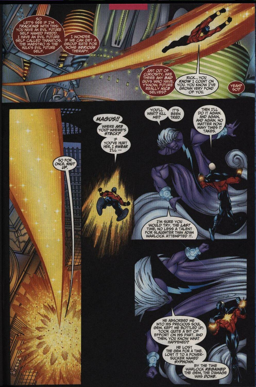 Captain Marvel (1999) Issue #33 #34 - English 21