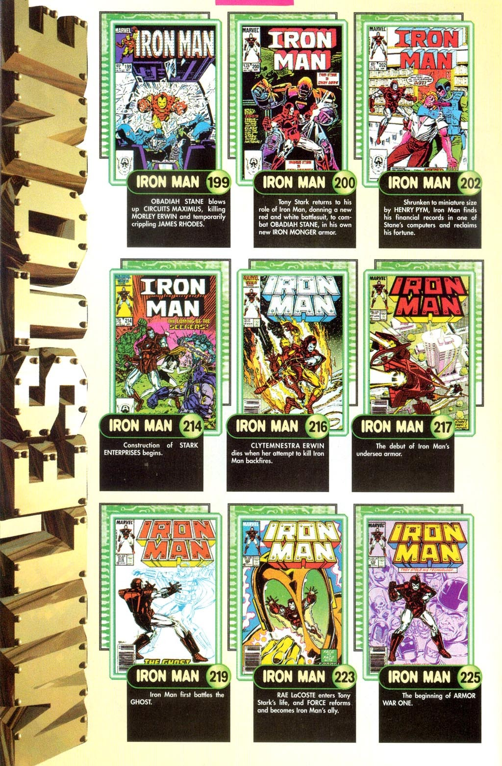 Read online Iron Man: The Legend comic -  Issue # Full - 12