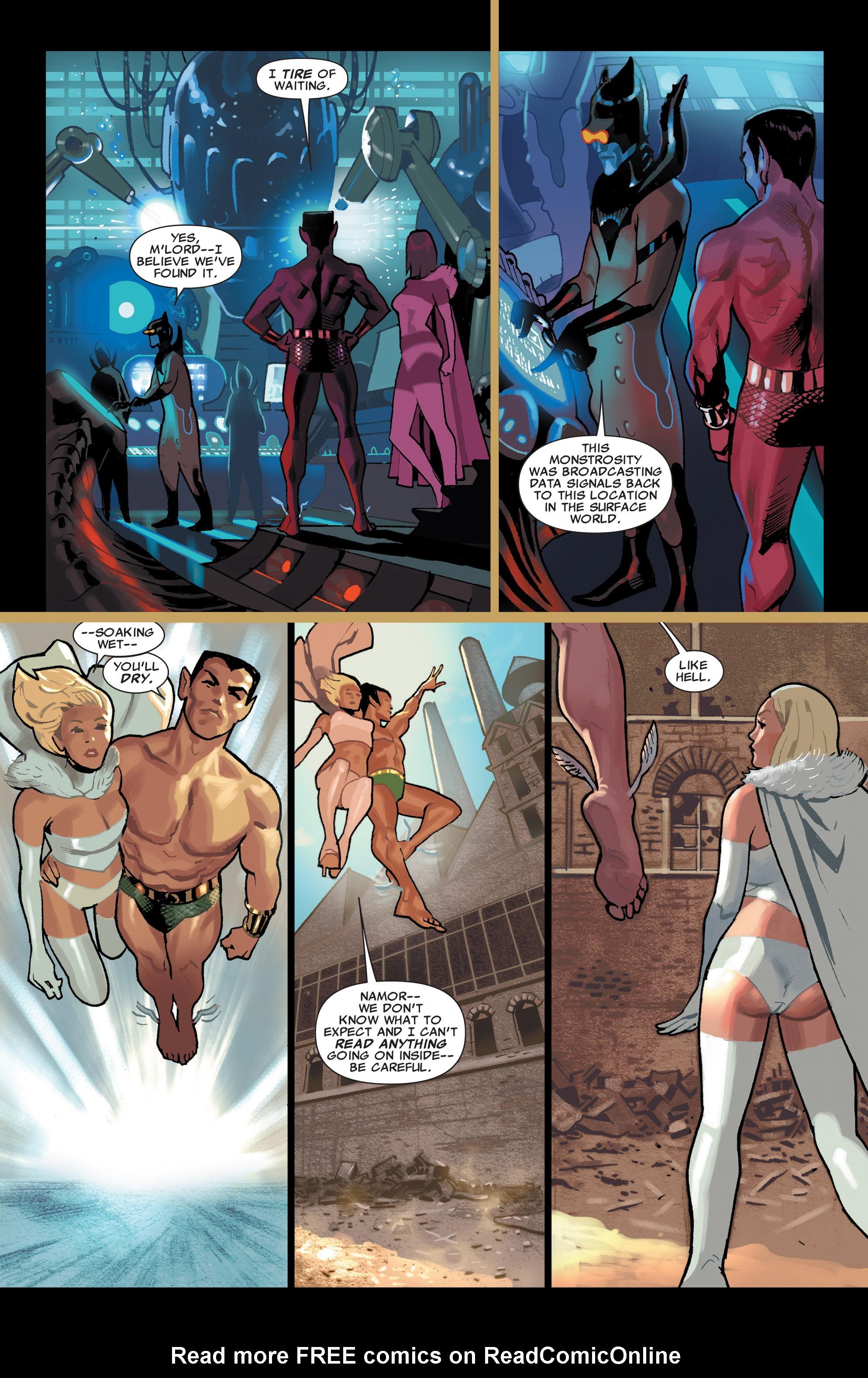 Read online Uncanny X-Men (1963) comic -  Issue # _Annual 2 (2009) - 29