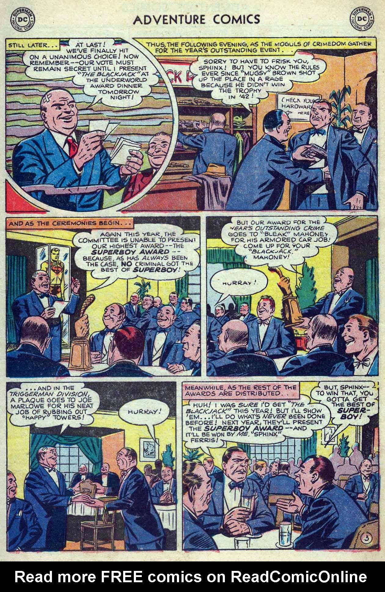 Read online Adventure Comics (1938) comic -  Issue #180 - 5