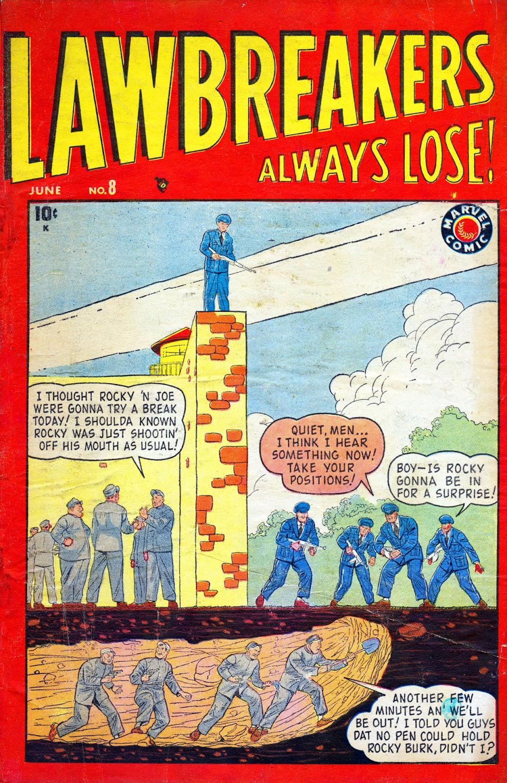Lawbreakers Always Lose! 8 Page 1