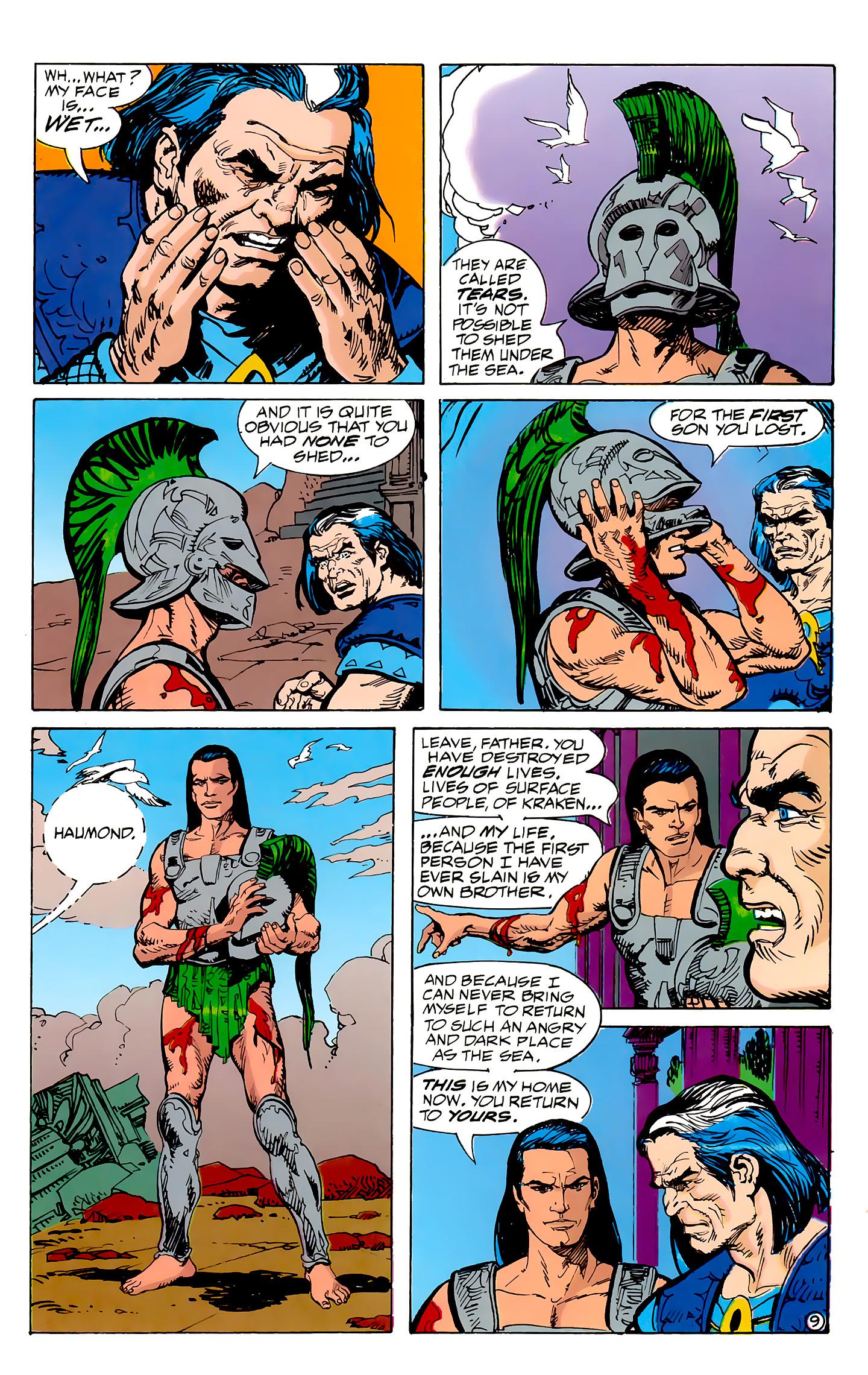 Read online Atlantis Chronicles comic -  Issue #7 - 10