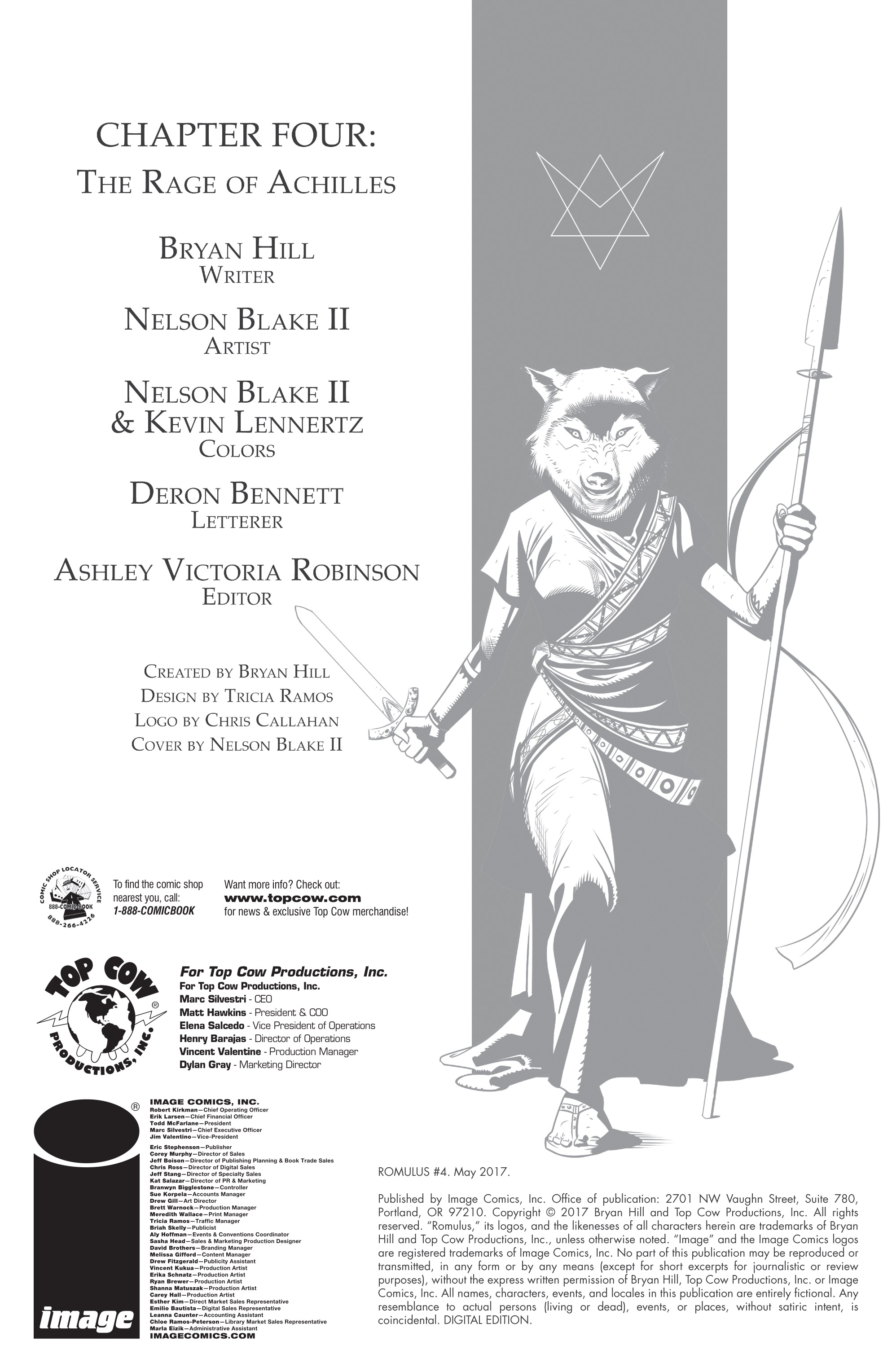 Read online Romulus comic -  Issue #4 - 2