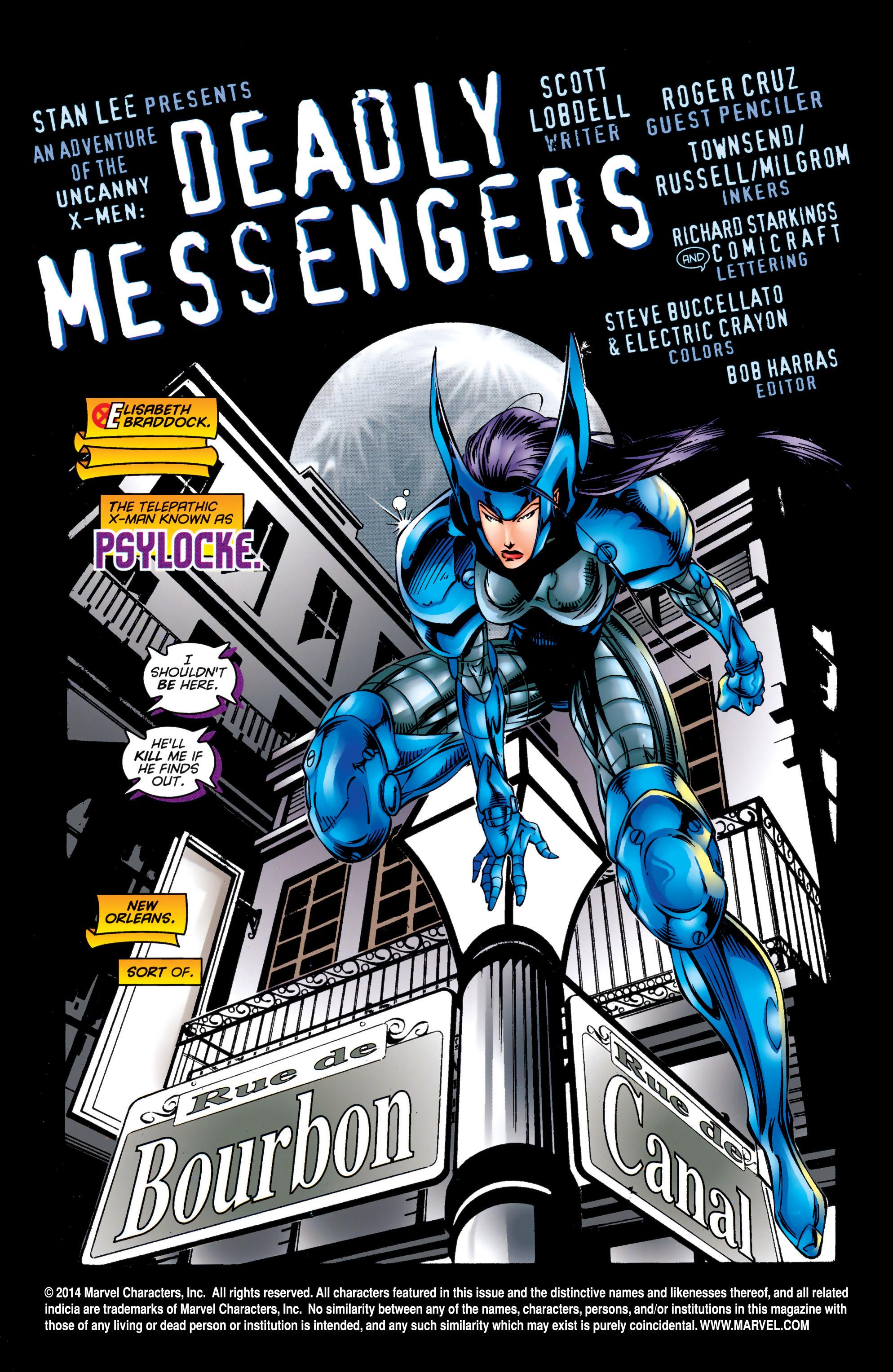 Read online Uncanny X-Men (1963) comic -  Issue #324 - 2
