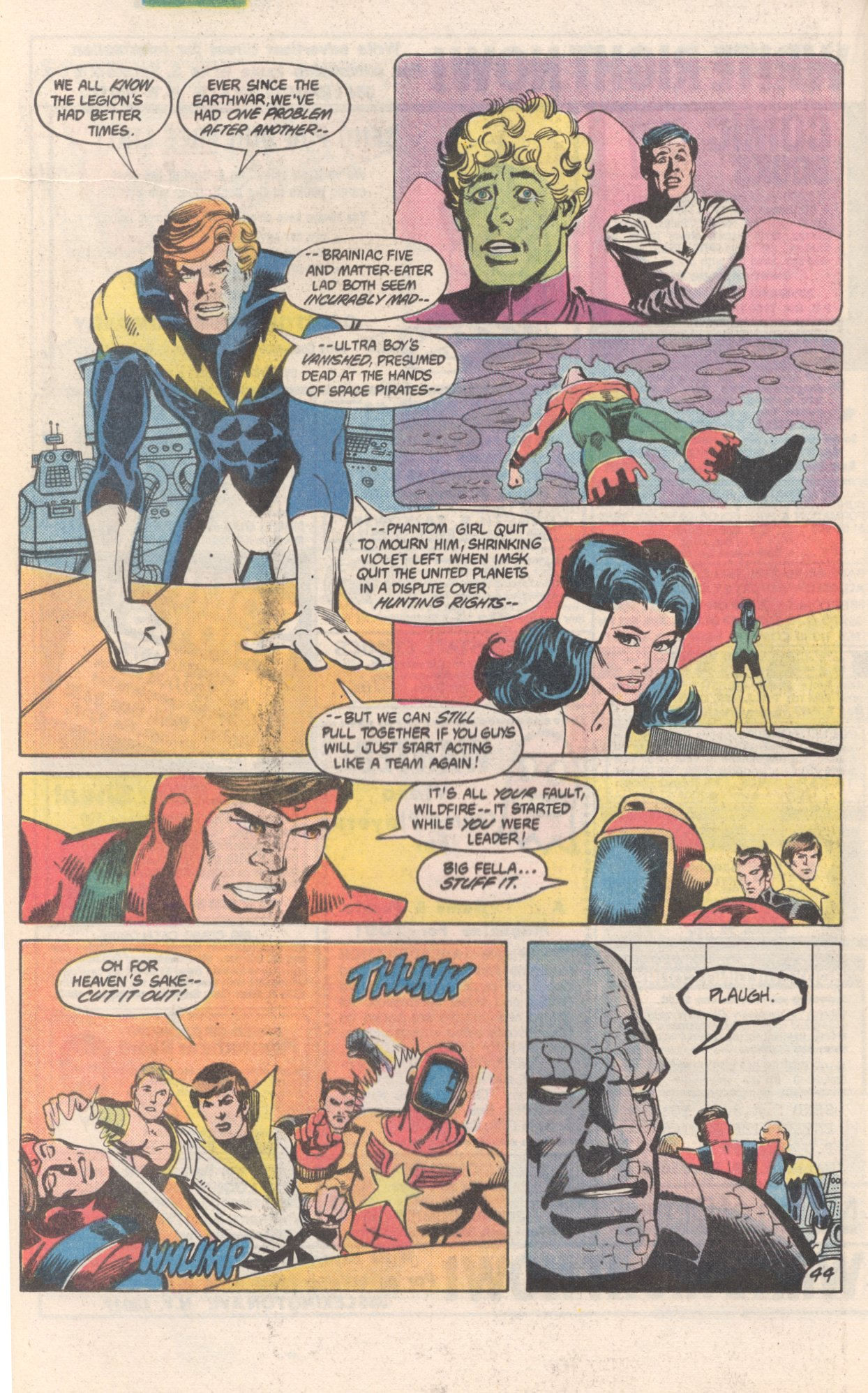 Legion of Super-Heroes (1980) 300 Page 44