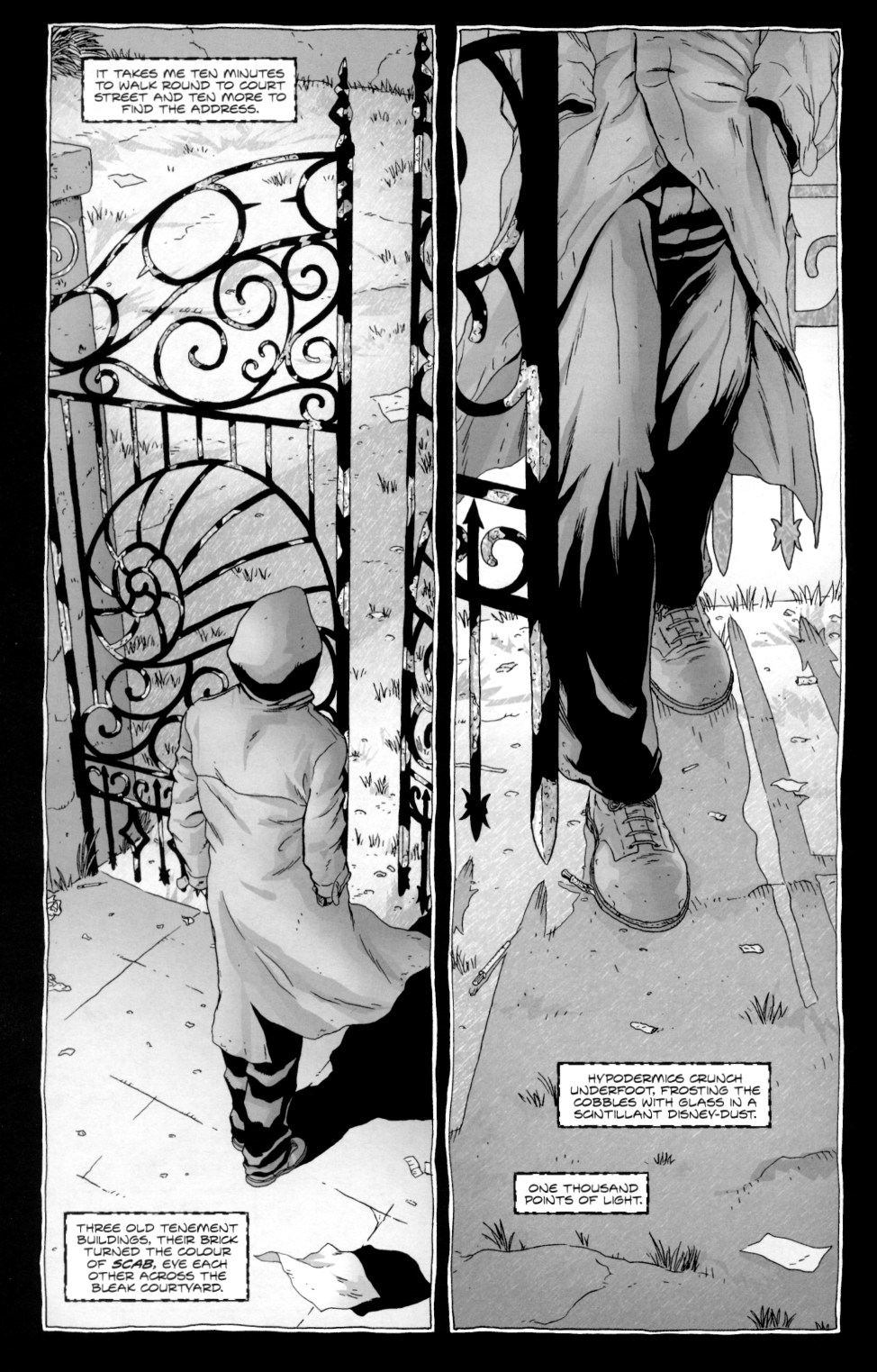 Read online Alan Moore's The Courtyard comic -  Issue #2 - 4