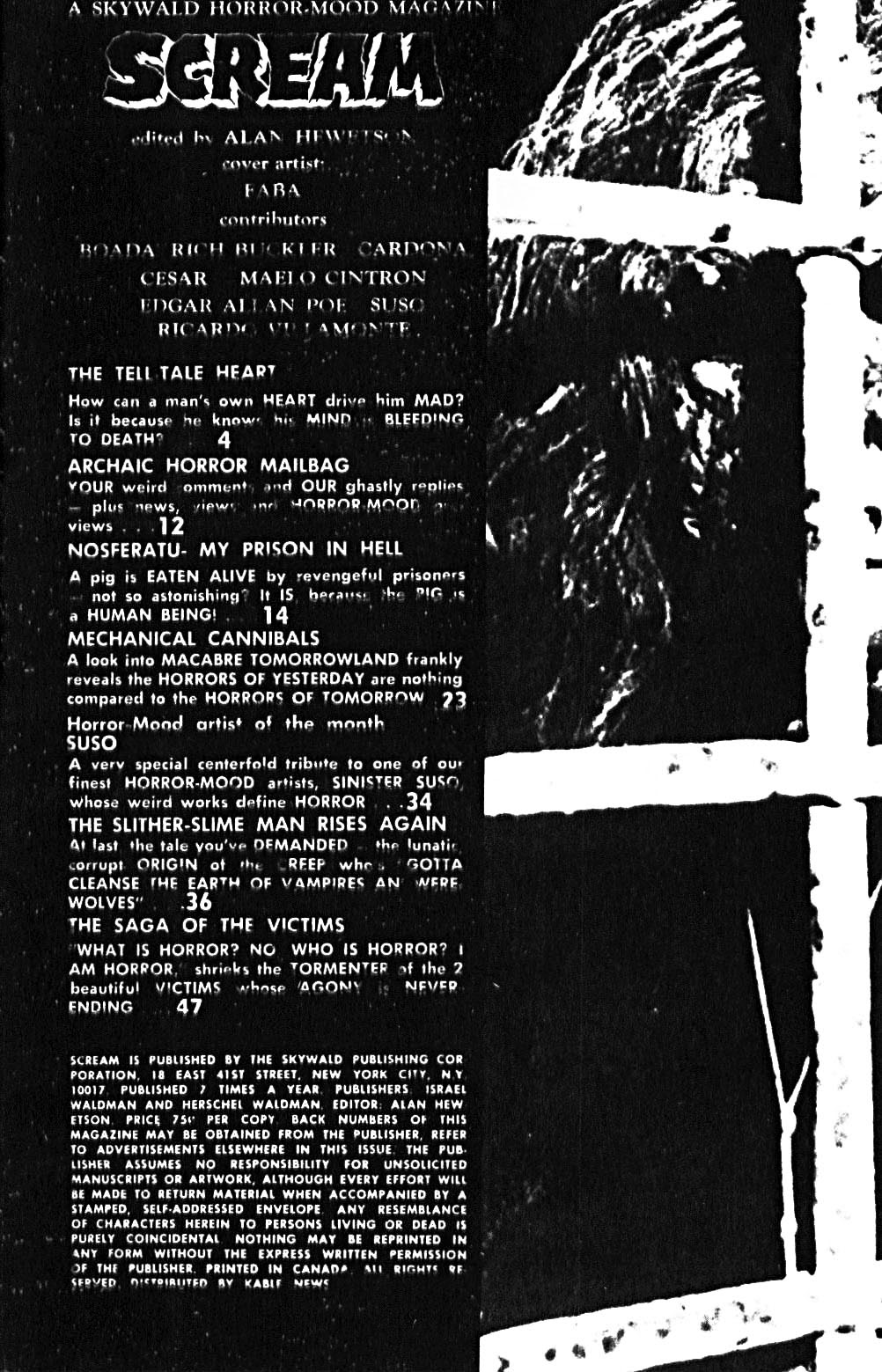 Scream (1973) issue 8 - Page 3