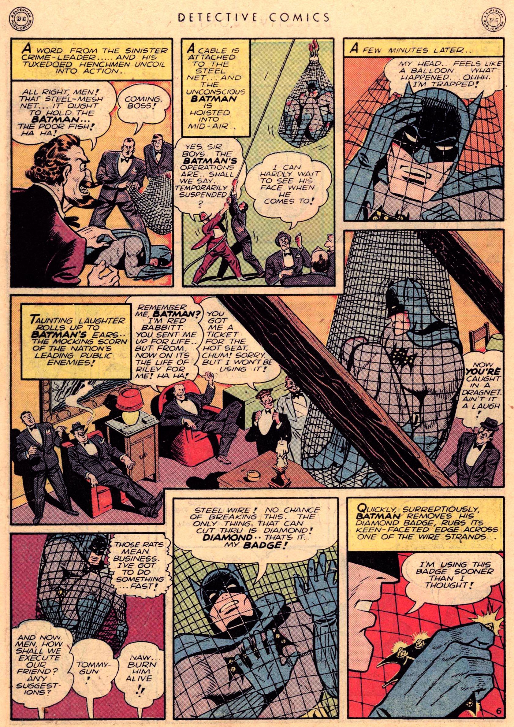 Read online Detective Comics (1937) comic -  Issue #95 - 8