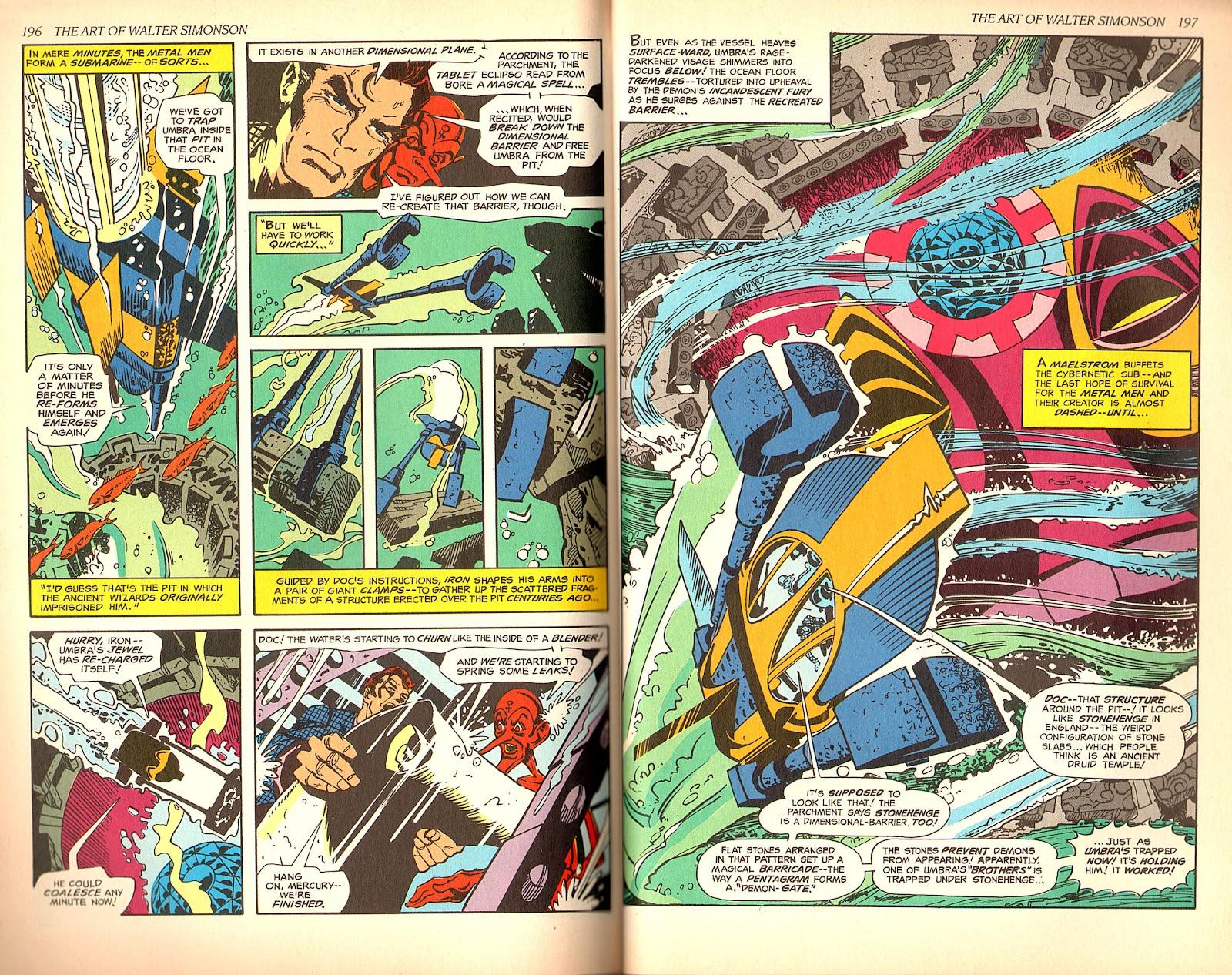 Read online The Art of Walter Simonson comic -  Issue # TPB - 100