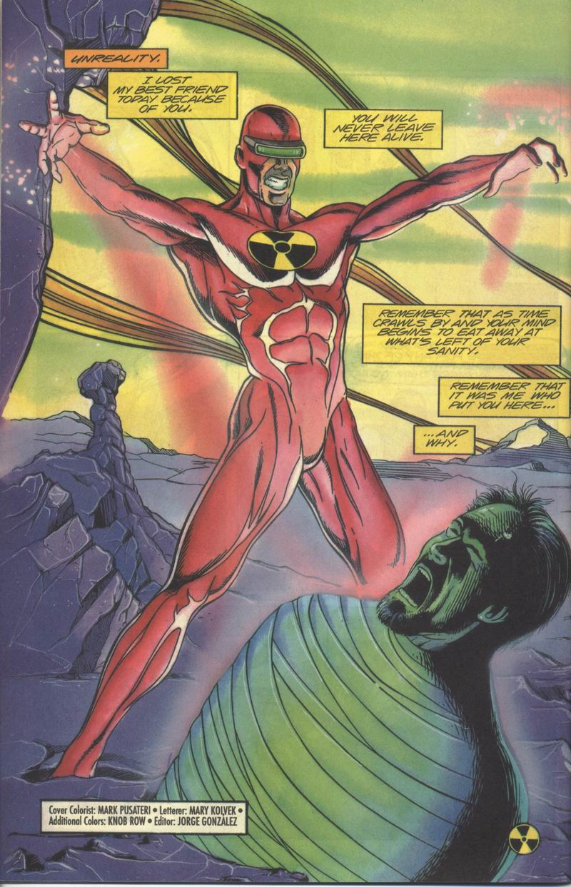 Read online Solar, Man of the Atom comic -  Issue #37 - 21