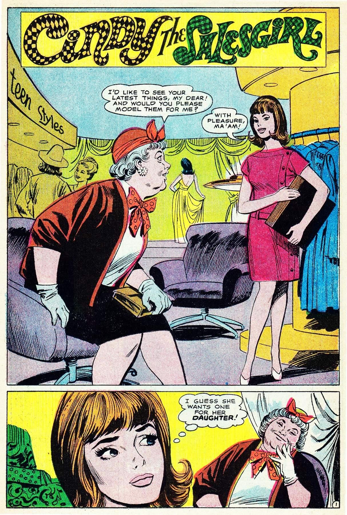 Read online Secret Hearts comic -  Issue #133 - 15
