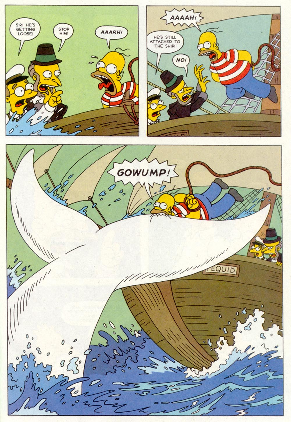 Read online Treehouse of Horror comic -  Issue #1 - 27