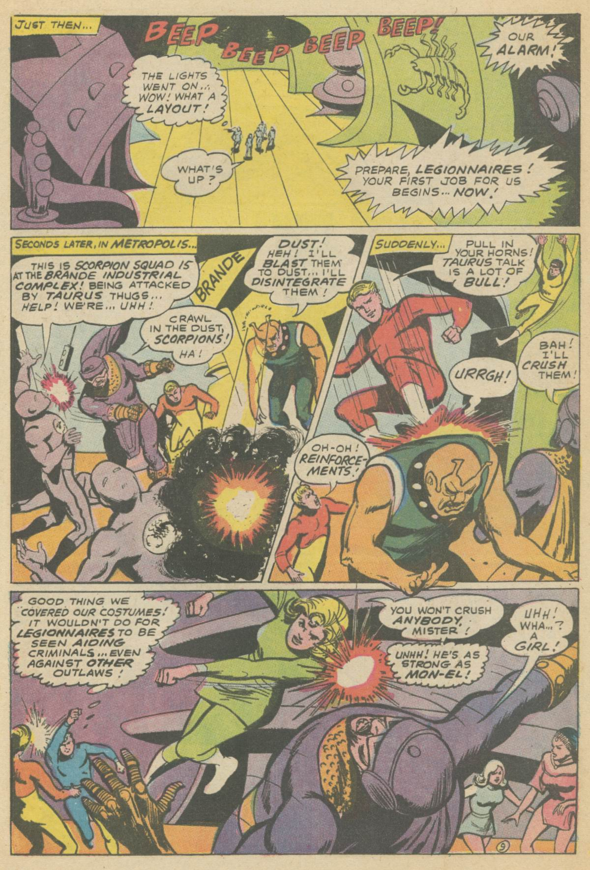 Read online Adventure Comics (1938) comic -  Issue #374 - 13
