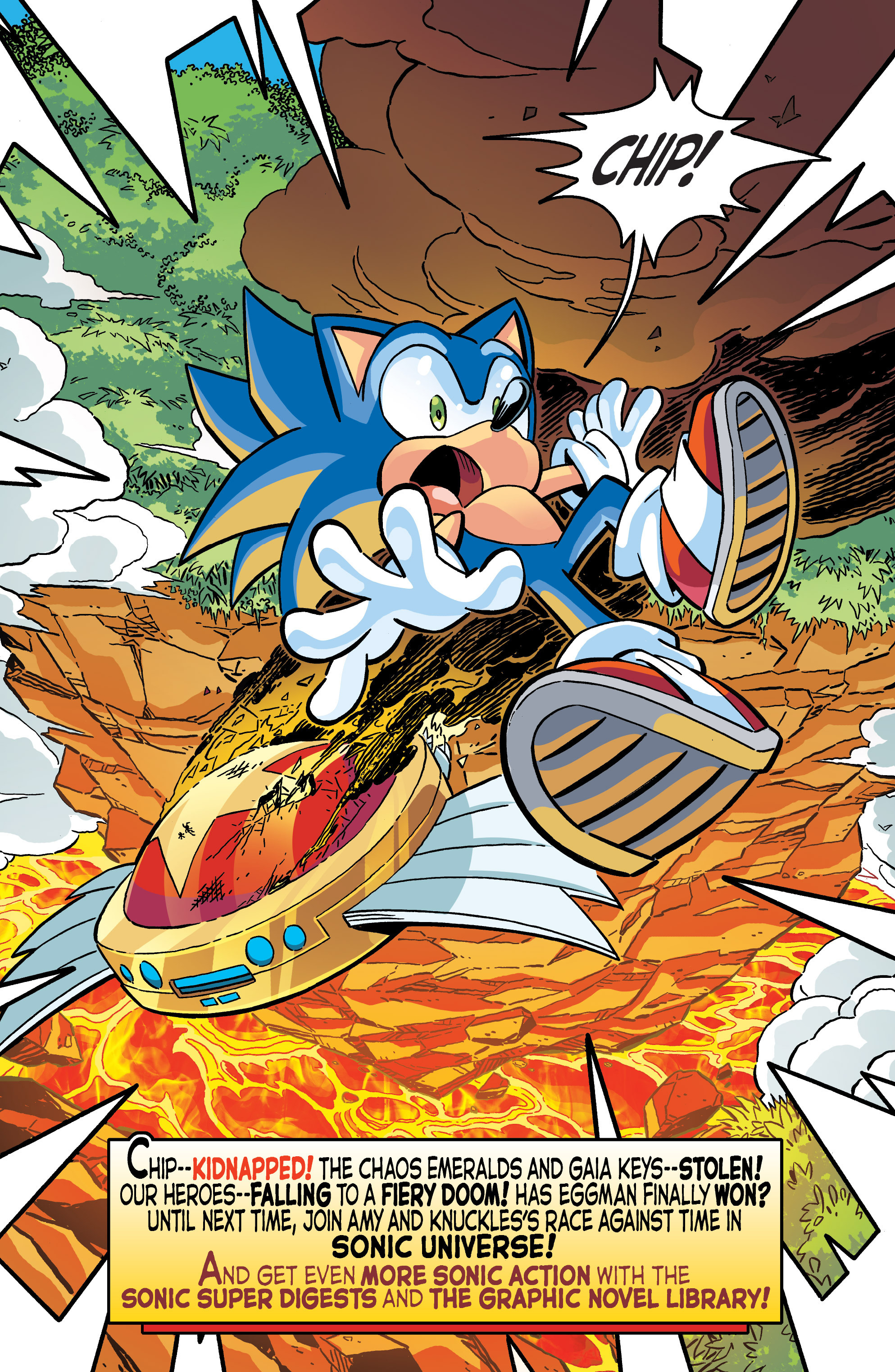 Read online Sonic The Hedgehog comic -  Issue #284 - 22