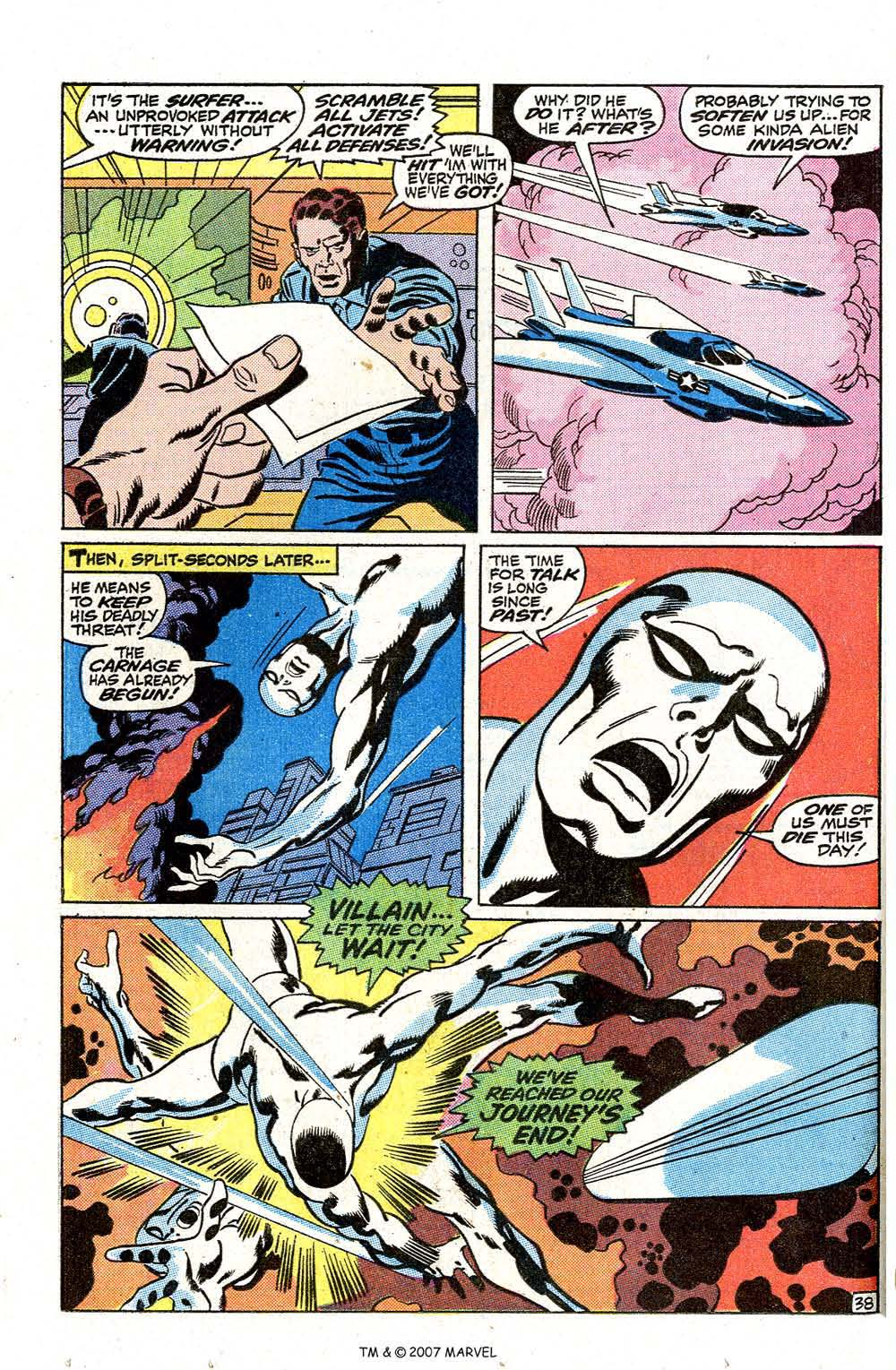 Read online Silver Surfer (1968) comic -  Issue #7 - 46