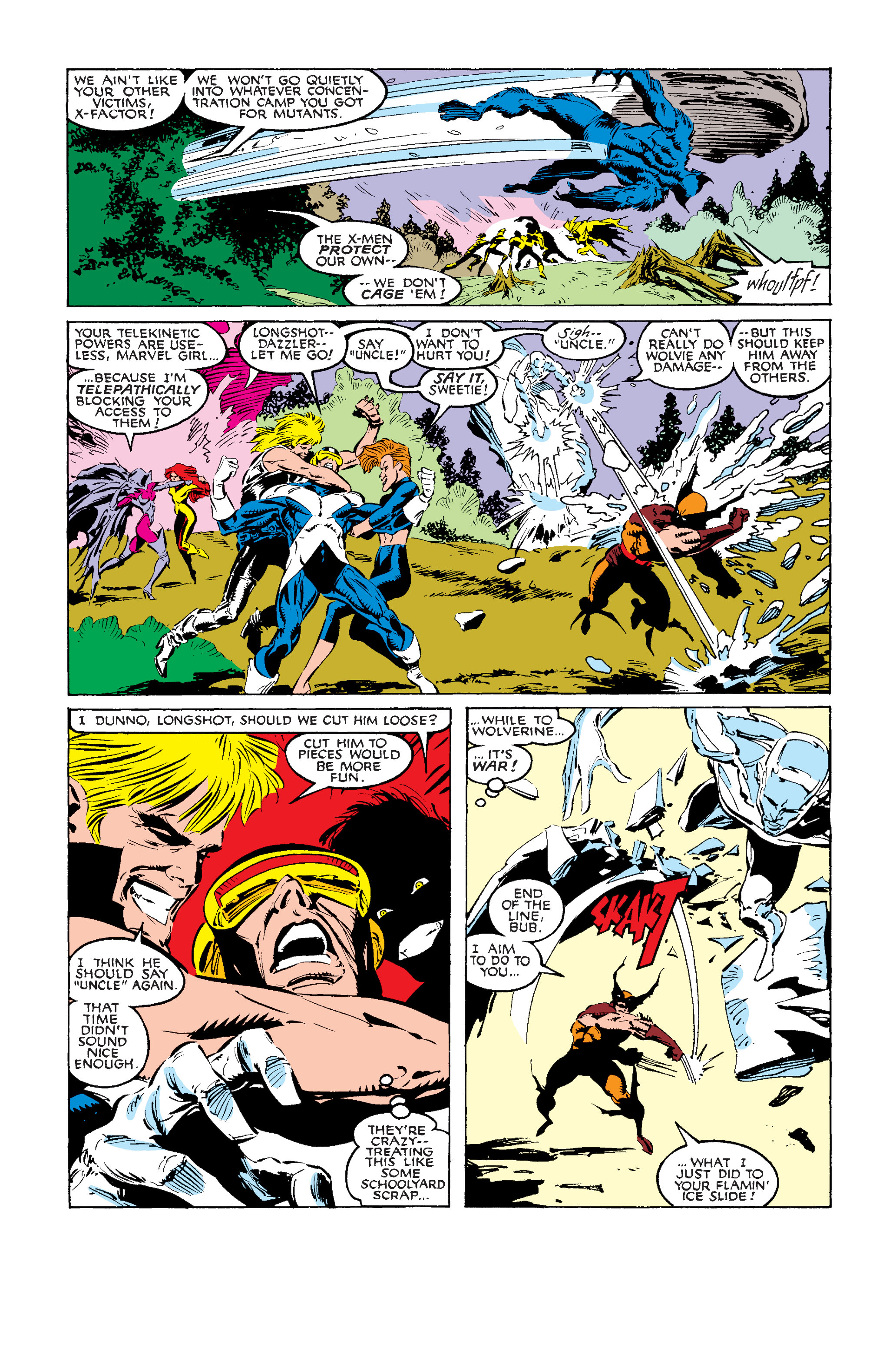 Read online Uncanny X-Men (1963) comic -  Issue #242 - 17