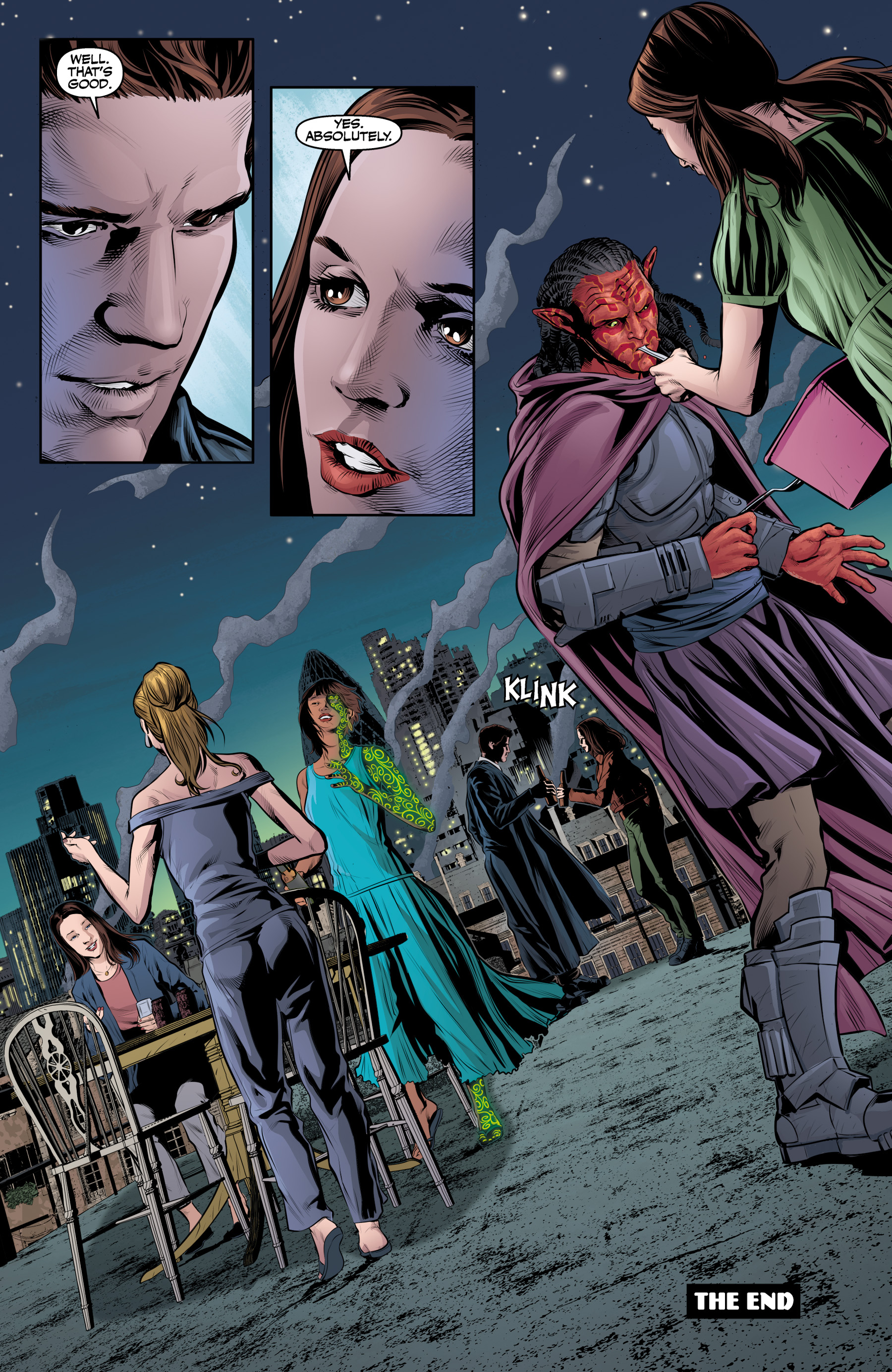 Read online Angel & Faith Season 10 comic -  Issue #25 - 23