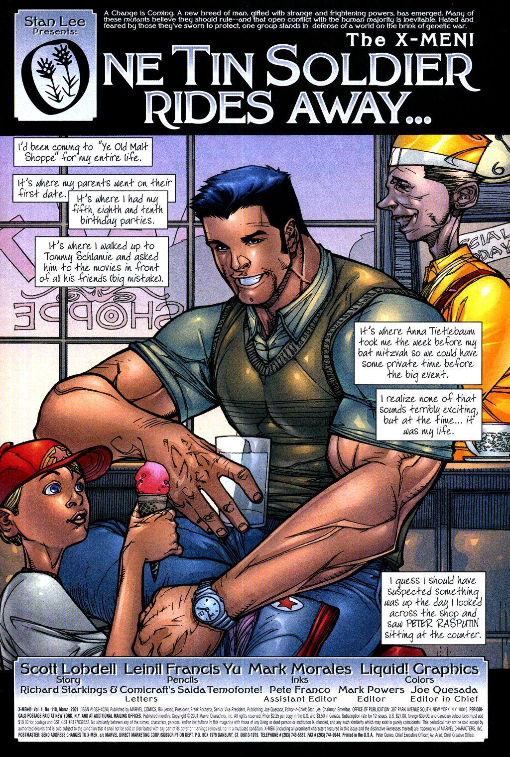X-Men (1991) 110 Page 1