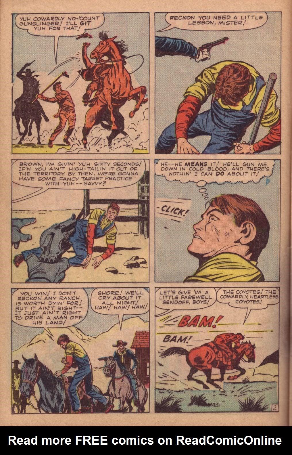 Gunsmoke Western issue 67 - Page 12