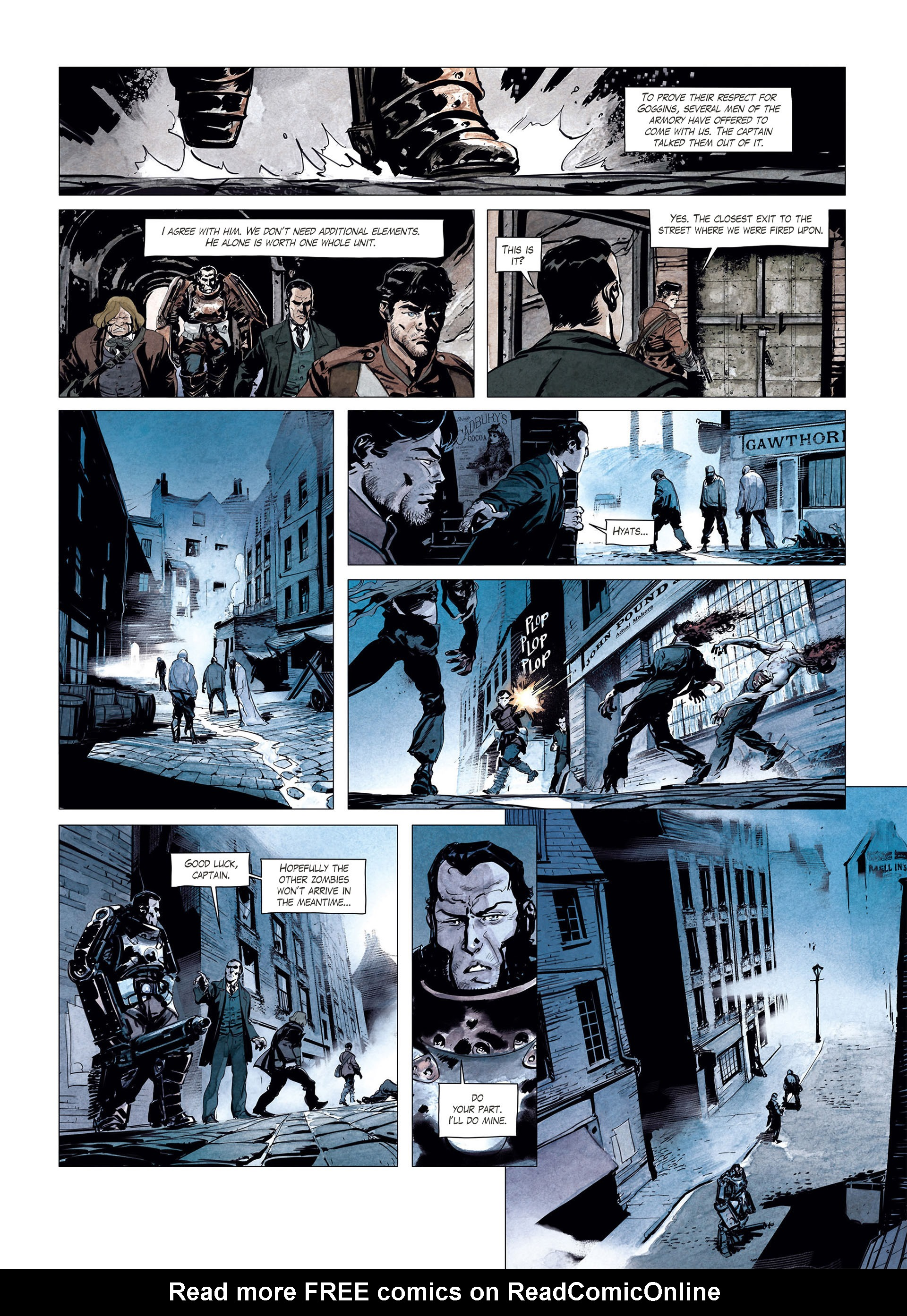 Read online Sherlock Holmes Society Tome 4 : Contamination comic -  Issue # Full - 30