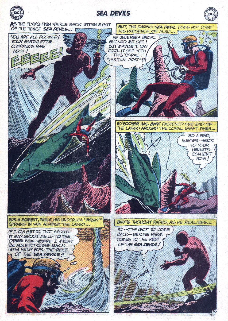 Read online Sea Devils comic -  Issue #9 - 28