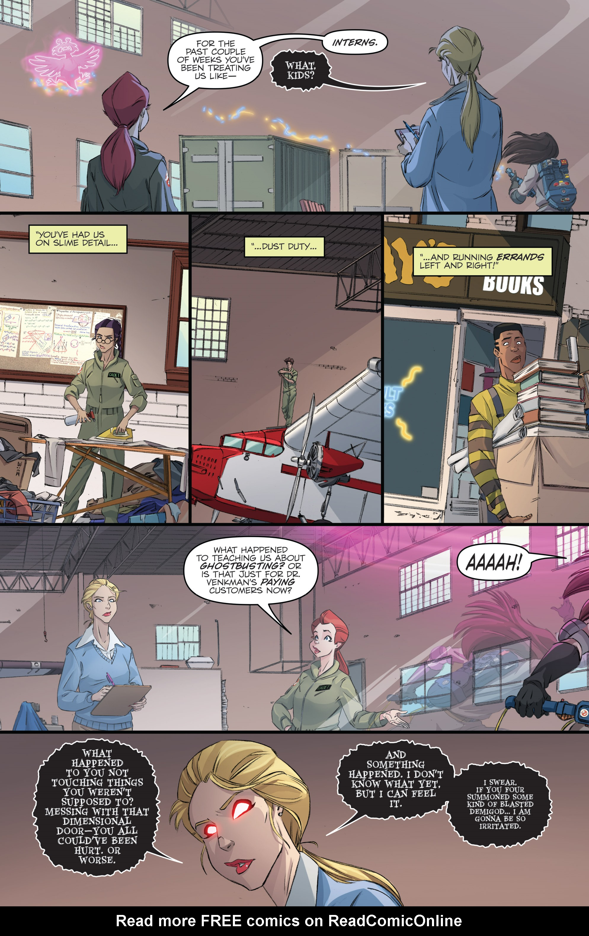 Read online Ghostbusters 101 comic -  Issue #3 - 7