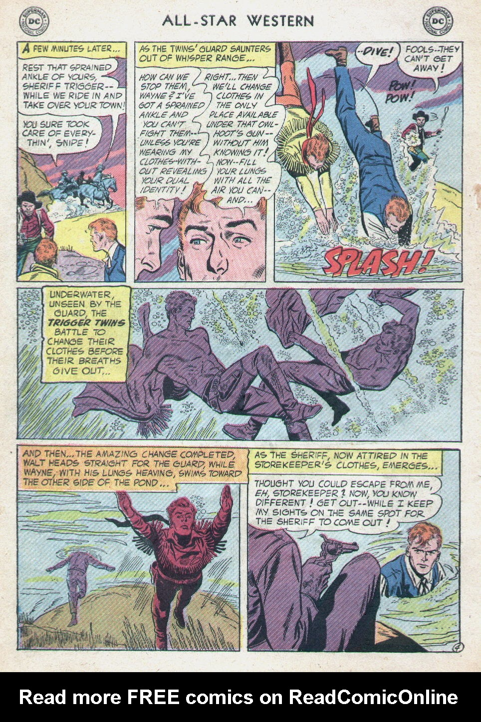 Read online All-Star Western (1951) comic -  Issue #90 - 6