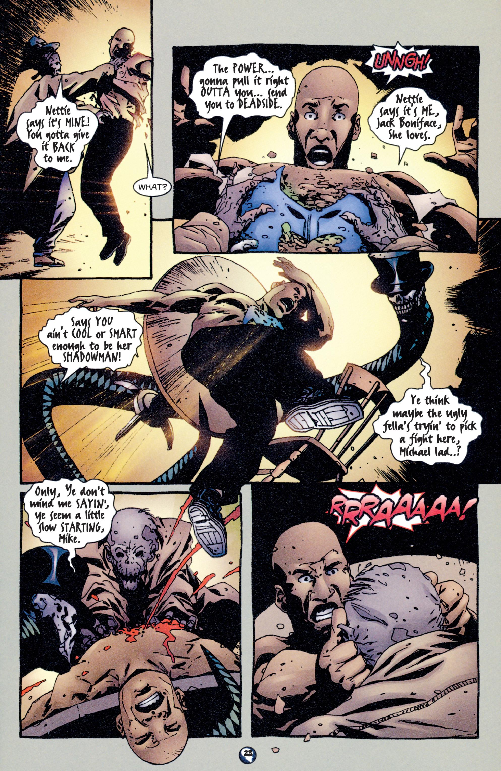 Read online Shadowman (1997) comic -  Issue #5 - 19