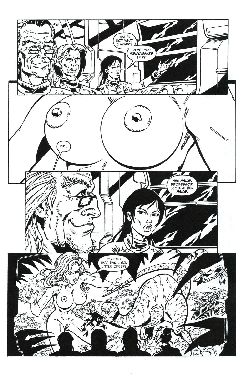 Read online Jungle Fantasy (2002) comic -  Issue #5 - 8