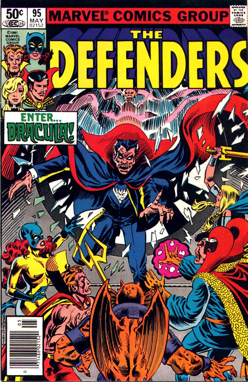 The Defenders (1972) issue 95 - Page 1