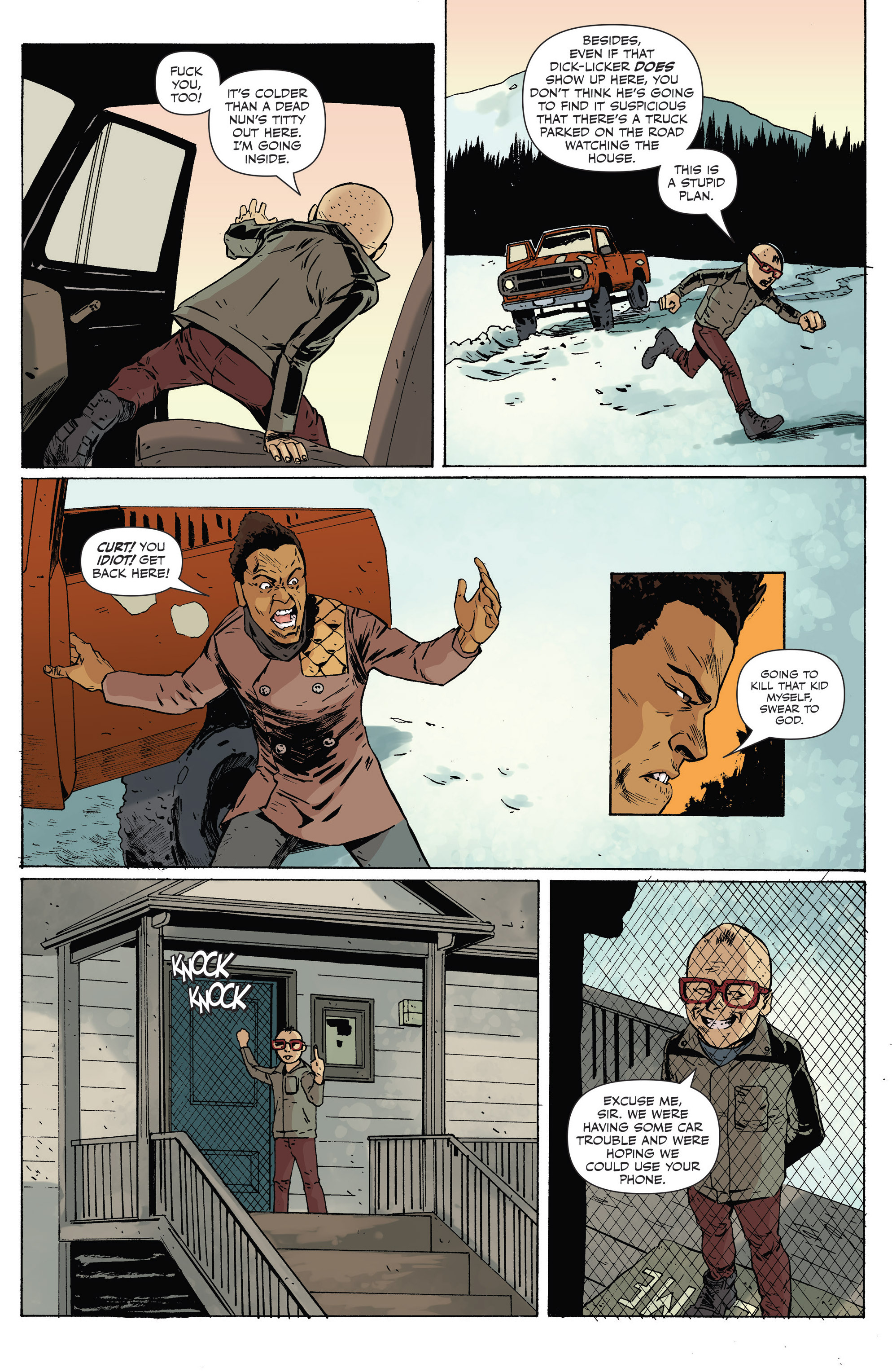 Read online Sheltered comic -  Issue #8 - 4