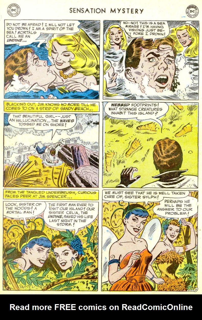 Read online Sensation (Mystery) Comics comic -  Issue #113 - 14
