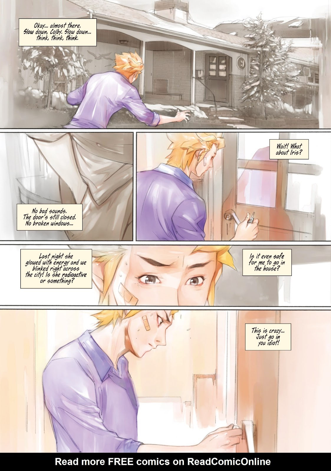 Read online Makeshift Miracle: The Girl From Nowhere comic -  Issue #5 - 4