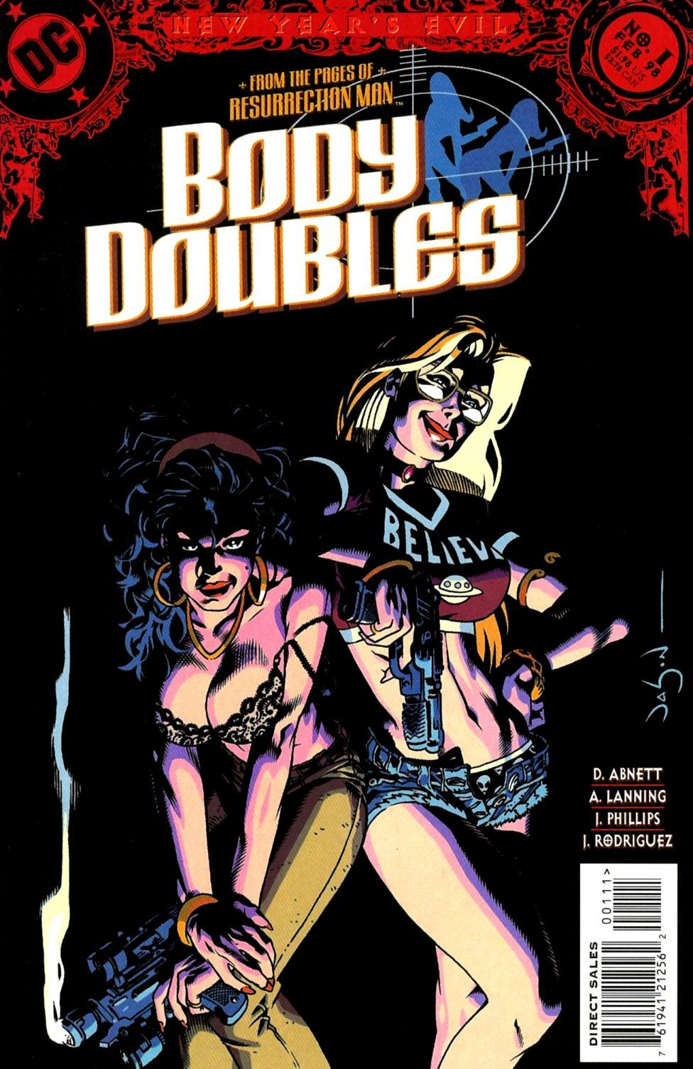 Body Doubles (Villains) issue Full - Page 1