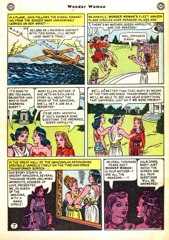 Read online Wonder Woman (1942) comic -  Issue #45 - 9