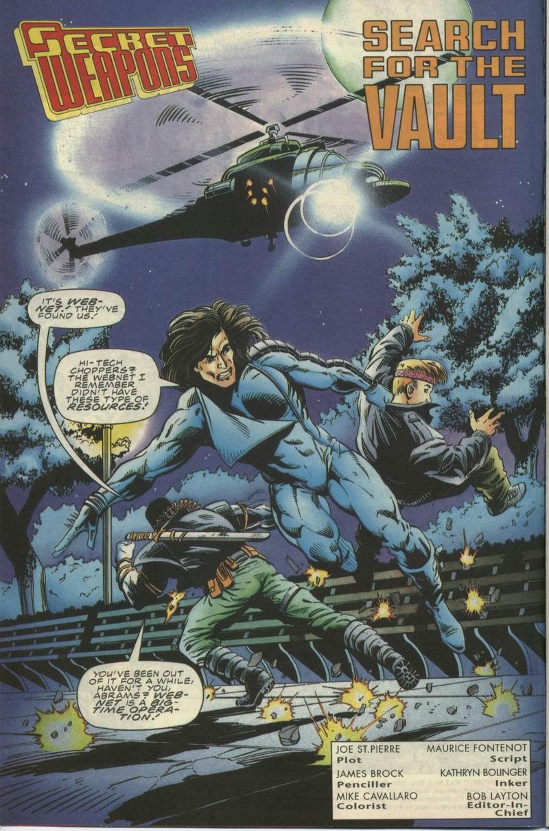 Read online Secret Weapons comic -  Issue #9 - 3