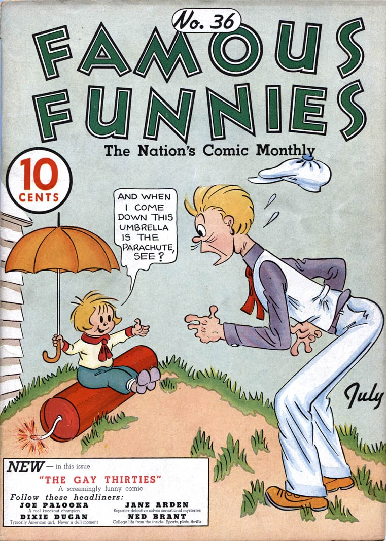 Read online Famous Funnies comic -  Issue #36 - 1